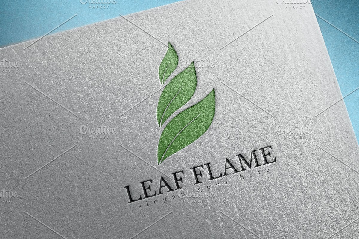 Leaf Flame Logo