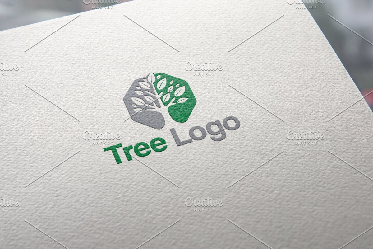 Tree Octagon Logo