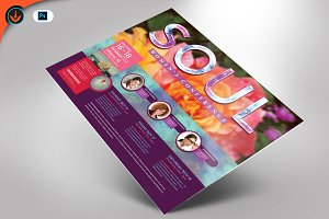 Women's Conference Flyer Template 2