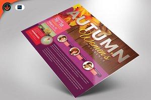 Autumn Women's Conference Flyer