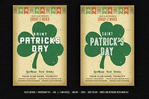 Vintage St. Patrick's Day Flyer