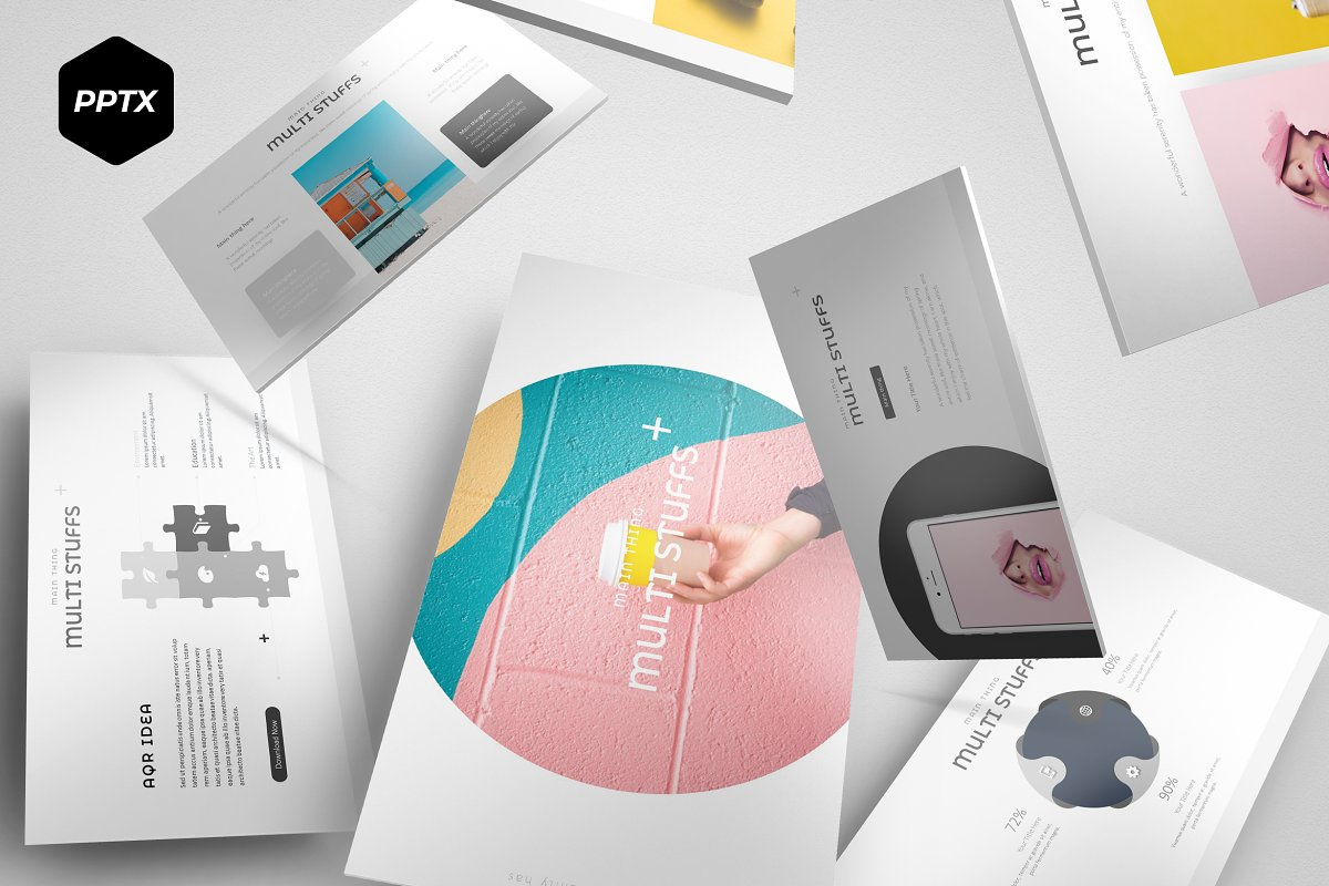 Multi - Powerpoint Template