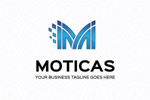 Moticas Logo Template