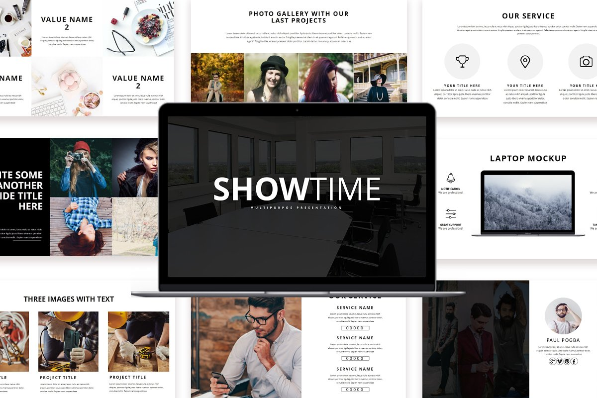 Showtime Keynote Template