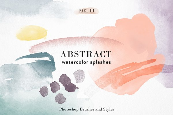 Photoshop Brushes: Struvictory.art - Abstract Watercolor - PS Brushes