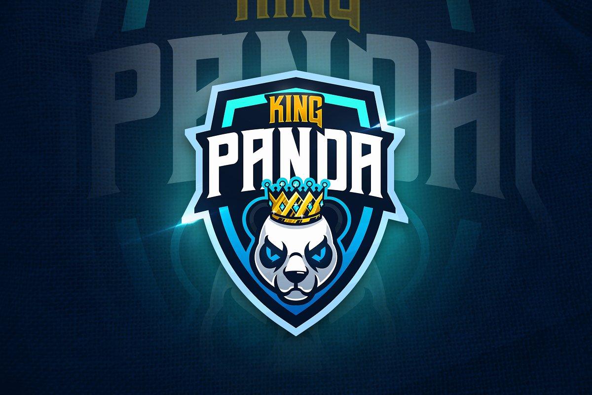 King Panda - Mascot & Esport Logo