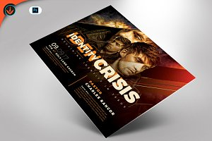 Identity Crisis Flyer Template