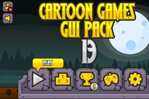 Cartoon Games GUI Pack 13