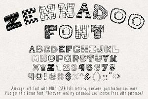 Zennadoo Font