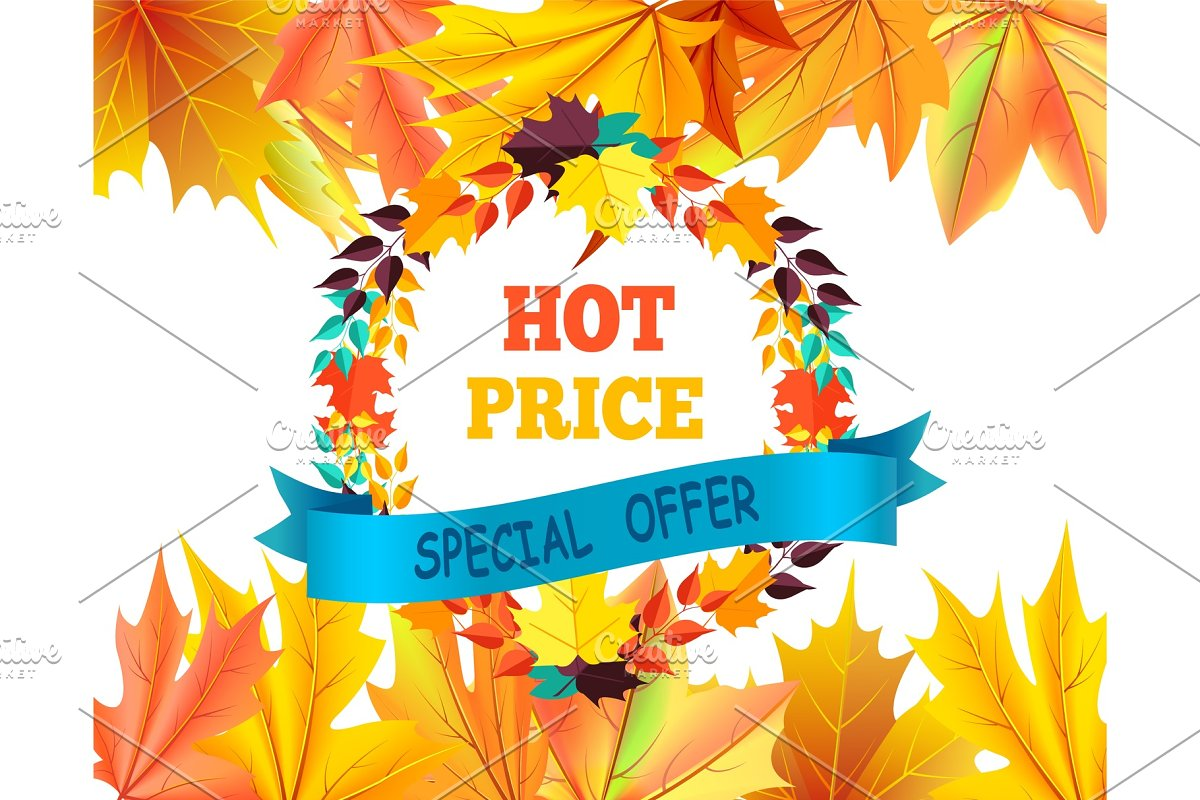Hot Price Special Offer with Round