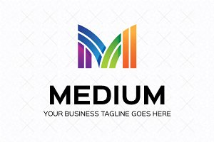 Medium Logo Template
