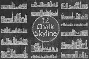 Chalk Skyline