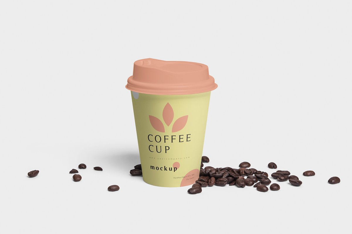 Disposable Coffee Cup Mockups