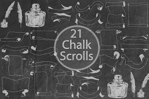 Chalk Scrolls