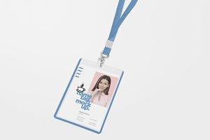 Corporate ID Card Mockups