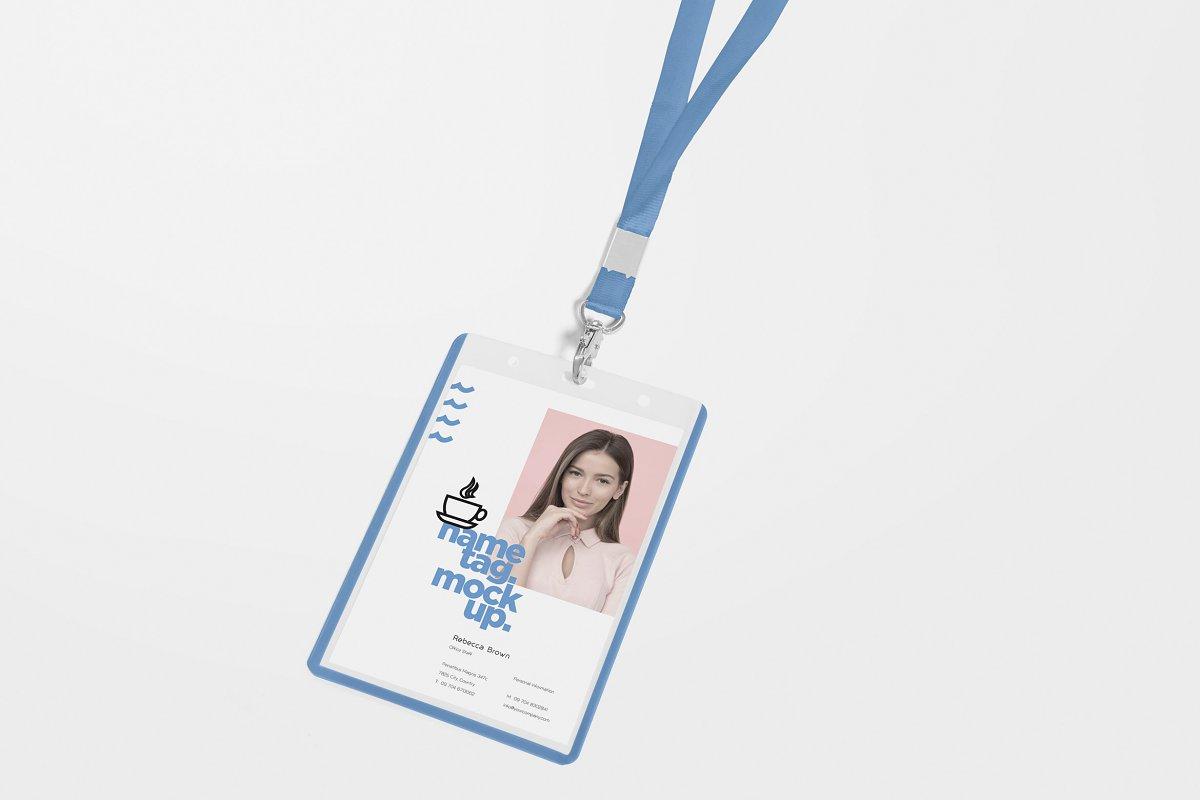Corporate ID Card Mockups in Mockup Templates