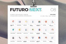 Futuro Next Icons / Human Pack by  in Icons