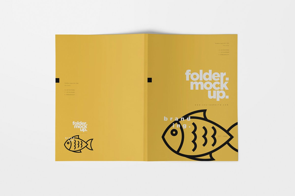 Beautiful Folder Mockups