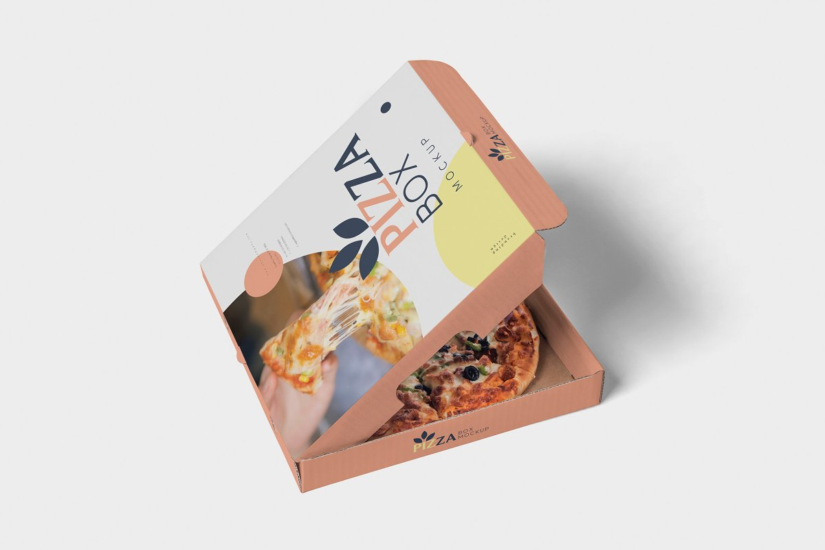 Pizza Box Mockups