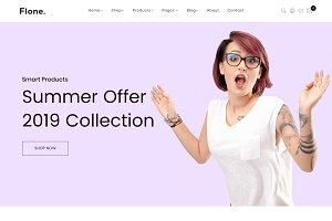 Flone - Minimalist eCommerce Shopify