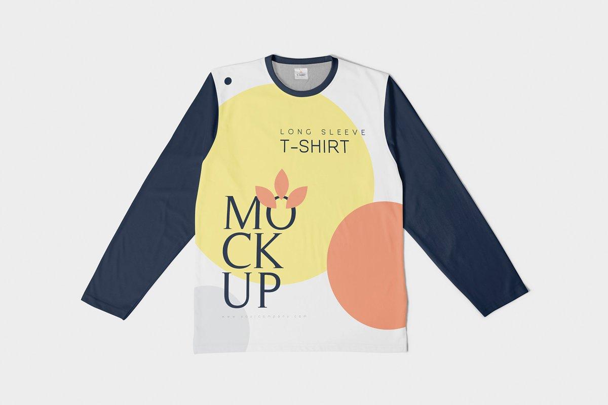 Long Sleeve T-Shirt Mockups