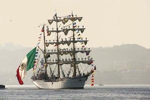 Cuauhtemoc sail training ship