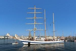 Pogoria sail training ship