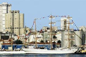 Tall Ships races 2012 Coruna port