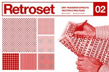 Retroset 02 - Dry Transfer Effects by  in Objects