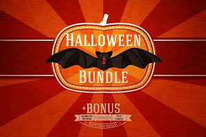 Halloween Cards Bundle + Bonus