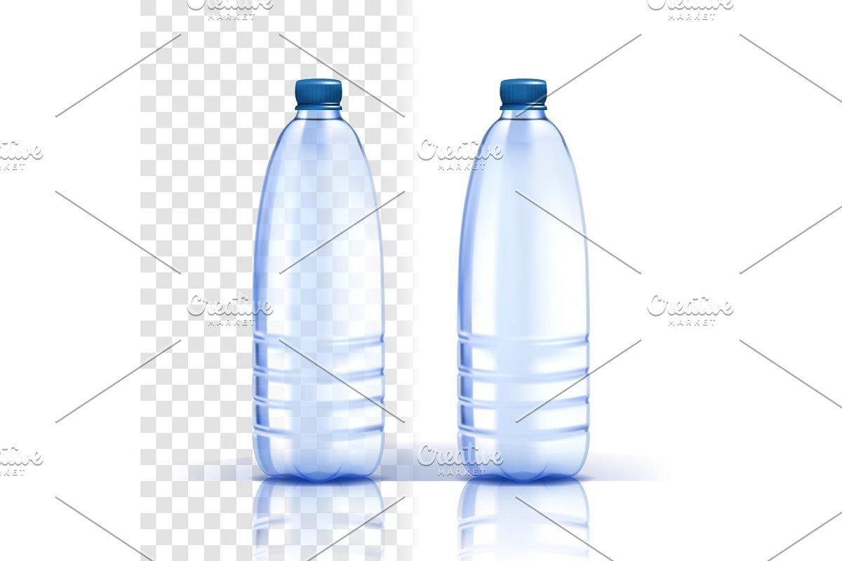 Plastic Bottle Vector. Healthy