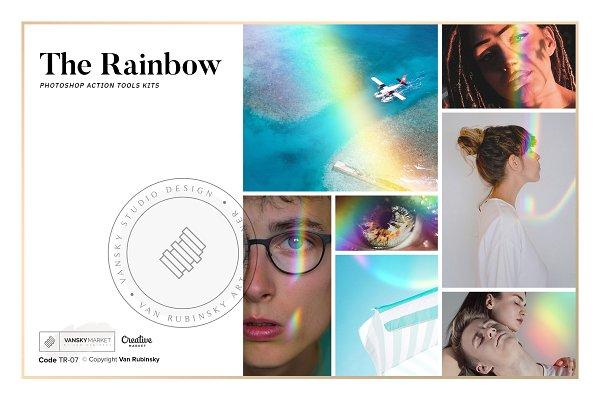 Photoshop Actions: Van Rubinsky - The RAINBOW Photoshop Action Tools