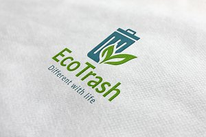 Eco Trash Logo