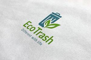 Eco Trash Logo