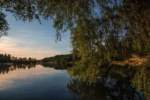 Lake sundown