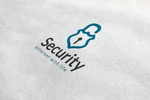 Security Lock Logo
