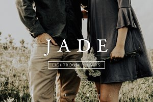JADE Deep Moody Lightroom Presets