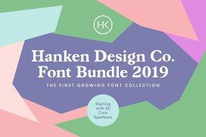HDC Font Bundle 2019