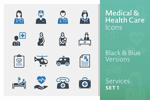 Medical Services Icons - Set 1