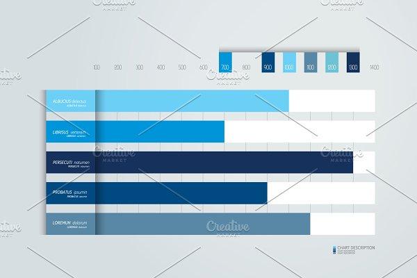 Flat chart, graph, scheme