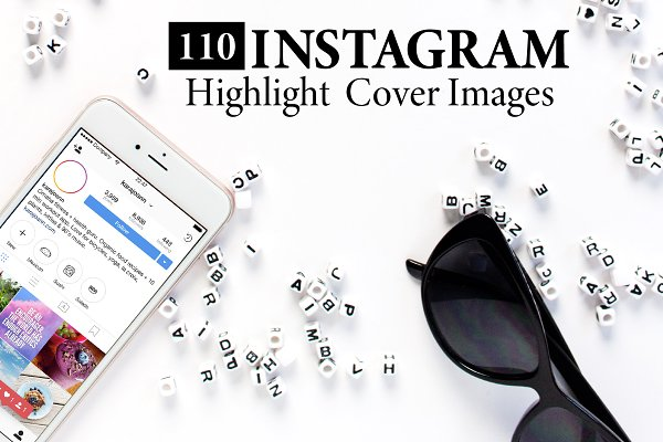 110 Instagram Highlight Cover Icons