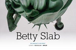 Betty Slab - An Organic Slab Serif