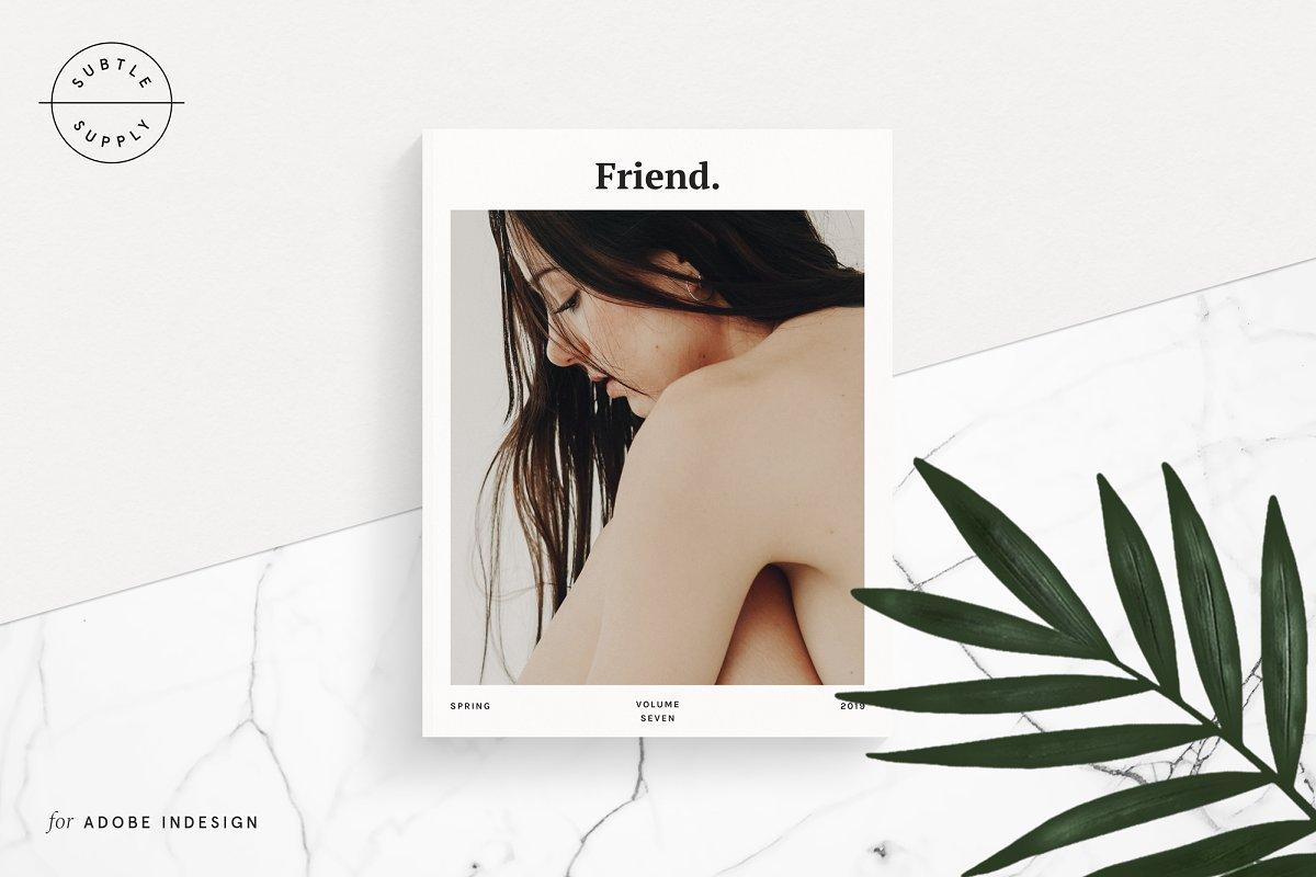 Friend Magazine Template