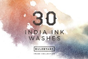 India Ink Washes