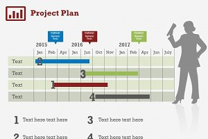 Project Plan 5 PowerPoint Template