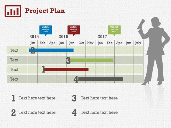 project plan 5 powerpoint template presentation templates