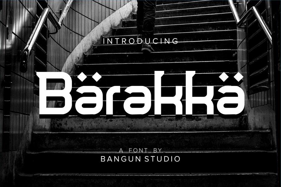 Barakka Font