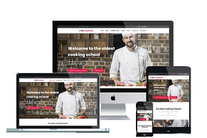 TPG Cookbook Kitchen WordPress theme