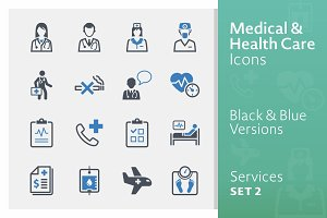 Medical Services Icons - Set 2