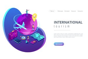 Global travelling isometric 3D